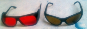 Scototherapy glasses